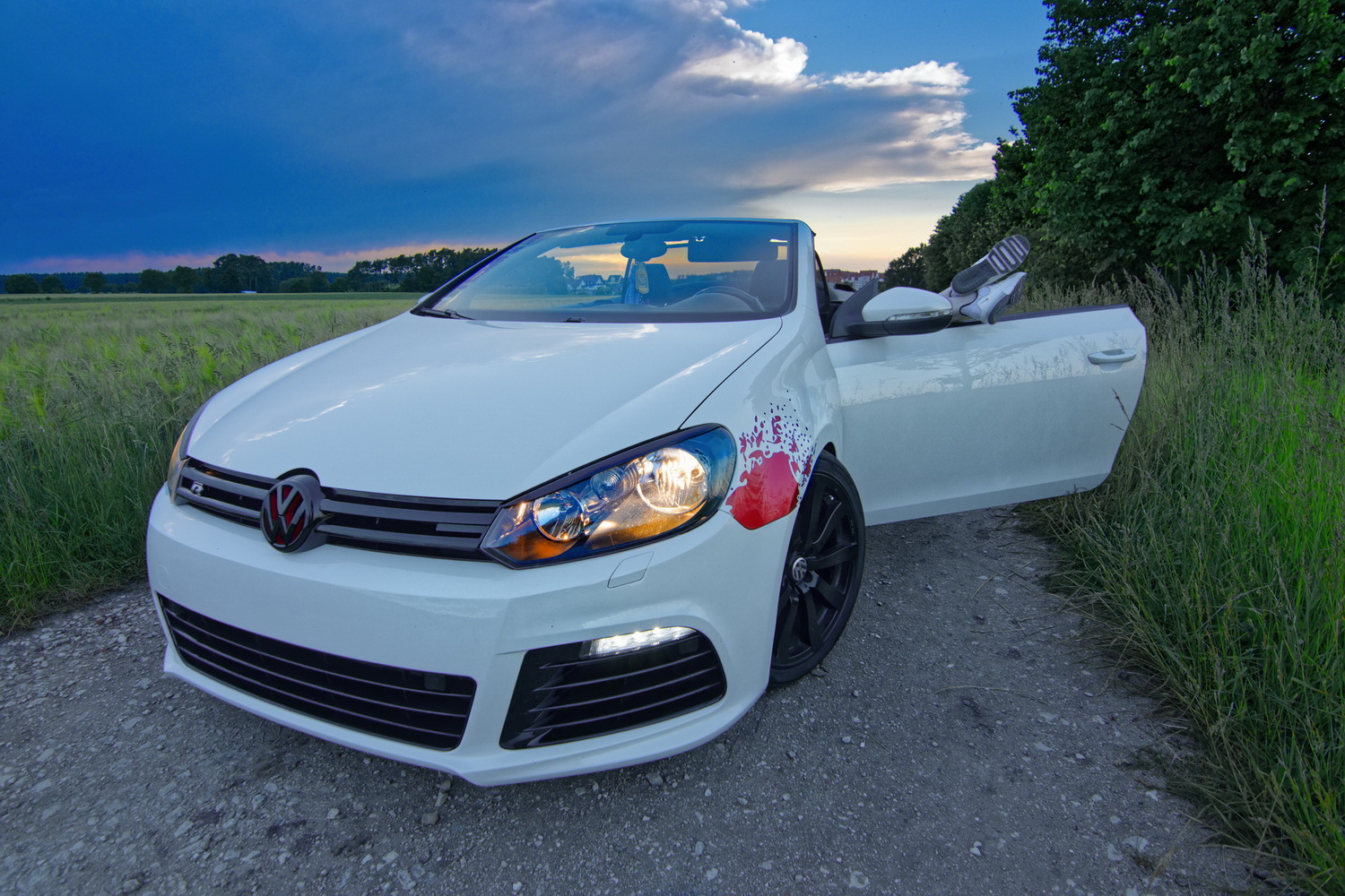 VW Golf 6 GTI Cabriolet 2.0 TSI (2014 series) – R-modded