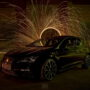 "Lightpainting – SEAT Leon Cupra 290 DSG (2020 series) ""Black Devil"""